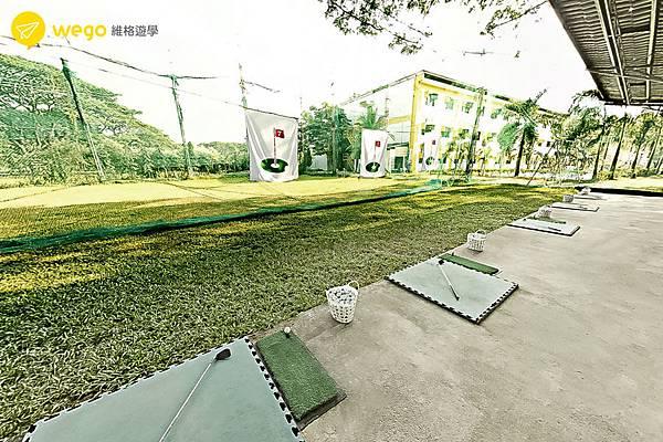 菲律賓克拉克-GS語言學校-高爾夫球練習場.jpg