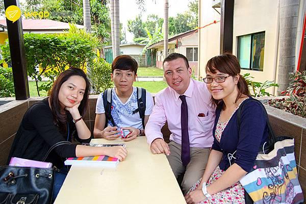 菲律賓遊學-克拉克cip語言學校-室外外師教學.jpg