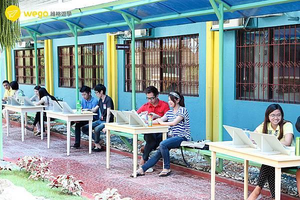 菲律賓遊學-克拉克cip語言學校-室外授課.jpg