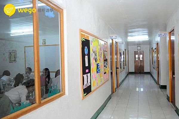 菲律賓遊學-宿霧bayside語言學校RPC校區-教室走廊.jpg