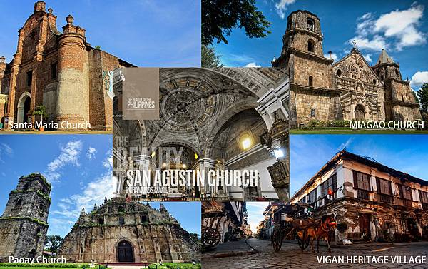 San Agustin Church  VIGAN HERITAGE VILLAGE Paoay Church Santa Maria Church MIAGAO CHURCH.jpg