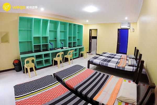 菲律賓遊學-宿霧CG-語言學校-4人房.jpg