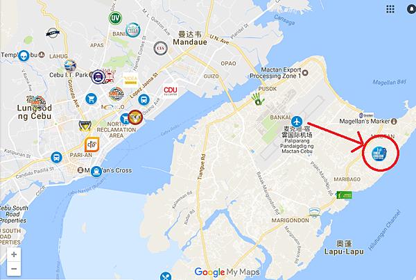 -First English宿霧日系語言學校-map