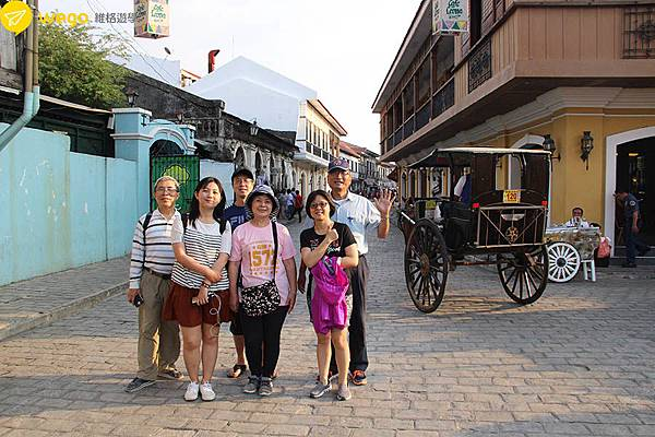 66歲媽媽菲律賓遊學去-維甘古城一日遊.JPG
