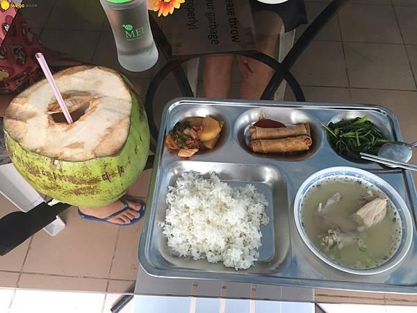 Wego維格遊學 Pei 參訪宿霧渡假村斯巴達語言學校 ELSA 餐點.jpg