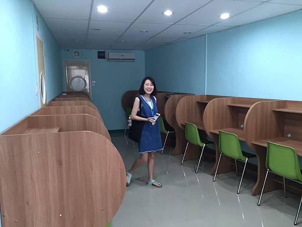 顧問Amy和Pei.  這次來到了Cella學校。cella學校一樣有兩個校區。首先先來介紹cella1校區。 (8).jpeg