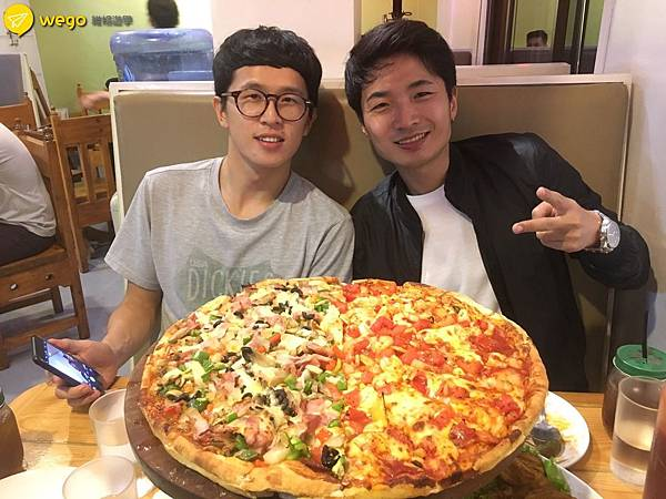Wego維格遊學 Felix 介紹碧瑤推薦美食 Grumpy Joe pizza 5.jpg