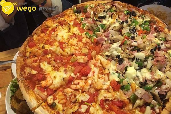 Wego維格遊學 Felix 介紹碧瑤推薦美食 Grumpy Joe pizza 7.jpg