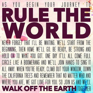 Walk Off The Earth - Rule the World