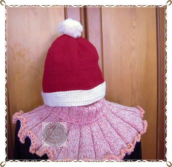 2013.1聖誕帽加短圍脖
