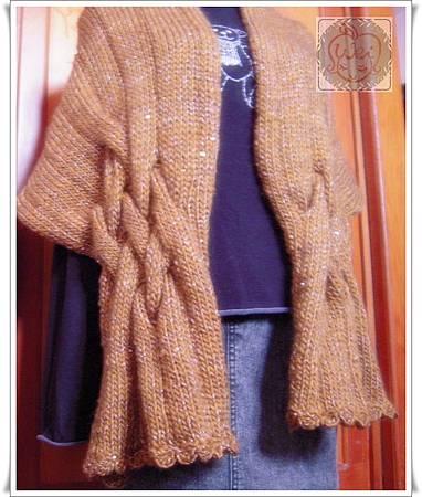 麻花圍巾3.2014.2