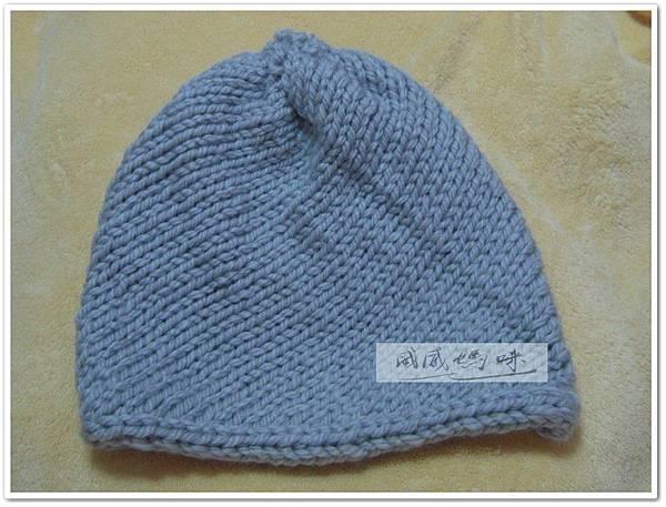 片織斜紋毛帽