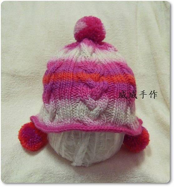 麻 花球球帽3.JPG