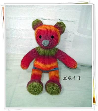棒針維拉小熊9