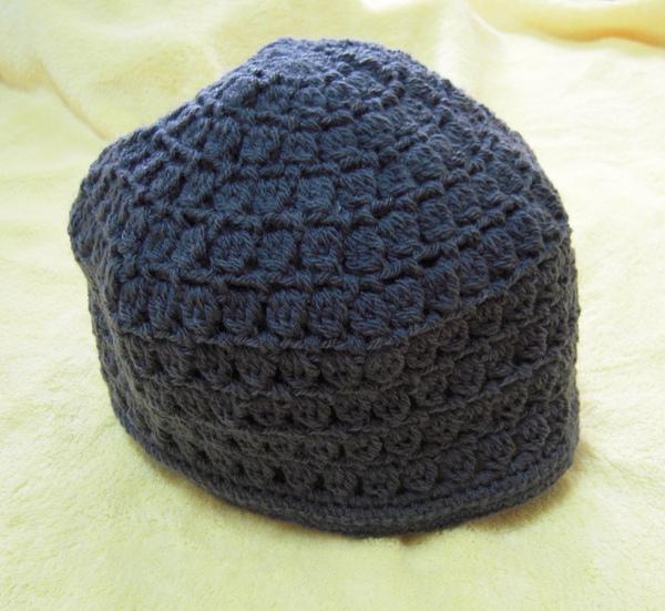 鐵灰色毛線帽