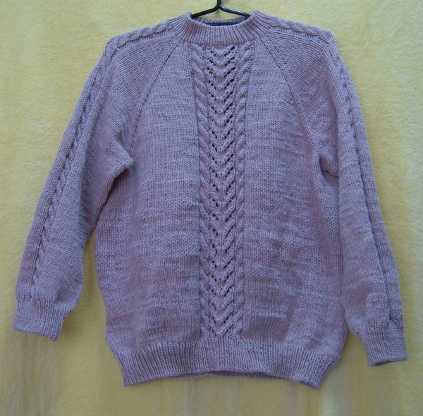拉克蘭袖毛衣