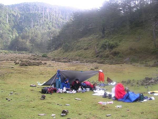 下馬谷營地