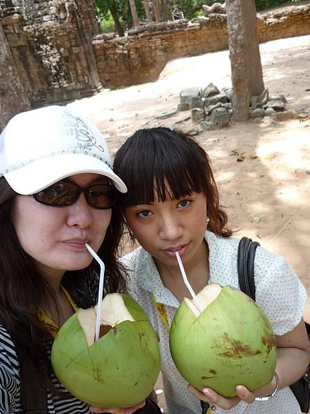 清涼透心肝椰子水