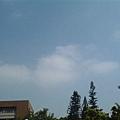 天空很藍很漂亮