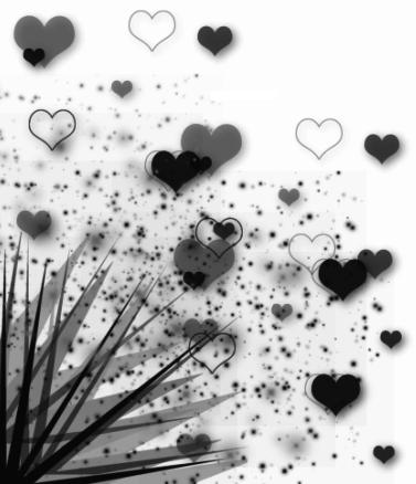 love-black-white-hearts
