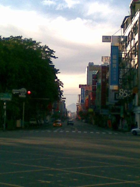 東寧路所見中央山脈