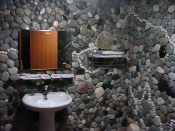 古井民宿七人房的廁所