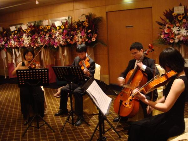 交大管弦的弦樂四重奏團