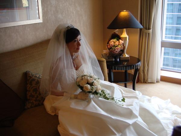 這麼美的新娘,真讓人看呆了