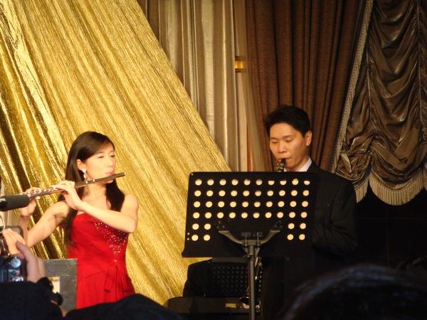 大宇說若是他的婚禮絕對不要吹樂器 XD