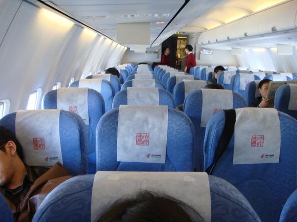 0303  異常空曠的飛機(中國國際航空)