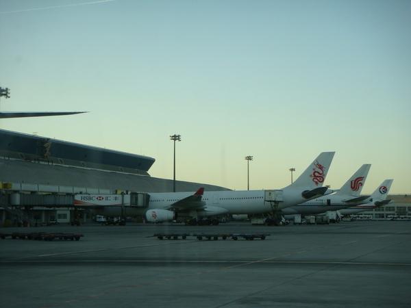 0303  到達北京機場