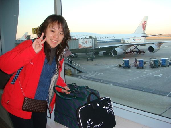 0303  非常沉重的背包和手提行李