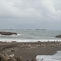 第一天--旗津風車公園的海邊