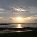 第一天--海邊的夕陽