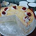 這千層蛋糕超好吃的!