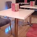 粉紅與粉紫的裝潢