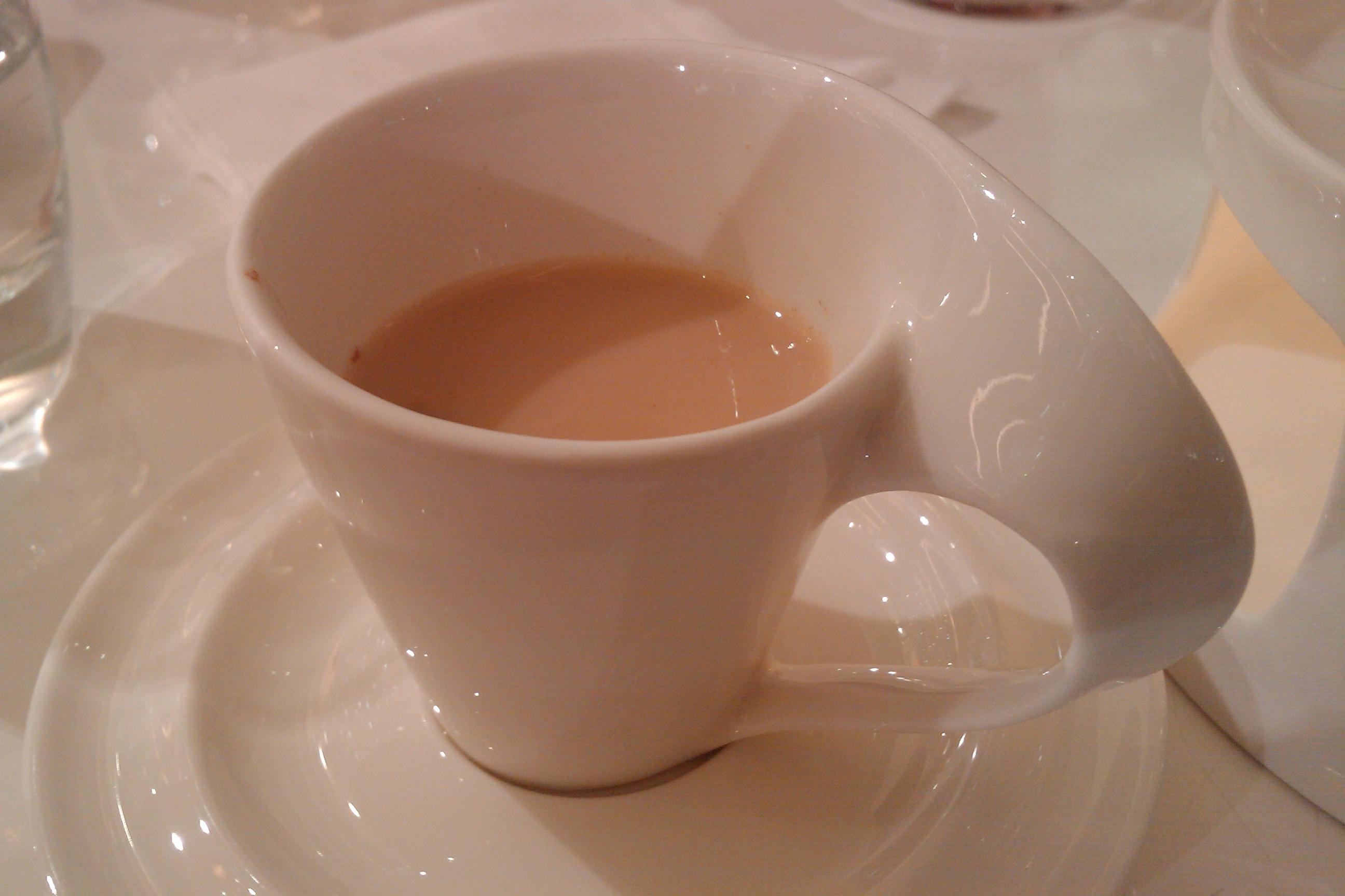 黑糖玫瑰熱奶茶