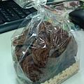 台中第三市場榮記餅店的巧克力小餅乾