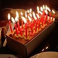 氣勢驚人的蠟燭們!