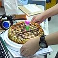 政洋幫艾莫西做的生日 Cheese Cake!超厲害!