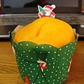 聖誕節買個小杯子蛋糕也這麼可愛 ^^
