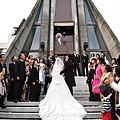 新娘拋捧花