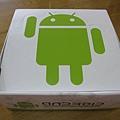 標準版綠安卓是放在白盒中