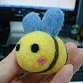 羊毛氈_小蜜蜂