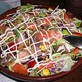 超級棒的海鮮沙拉!!!超好吃!!