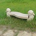 野雁造型的椅子好呆