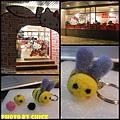 羊毛氈的第一堂課--好愛小蜜蜂!!