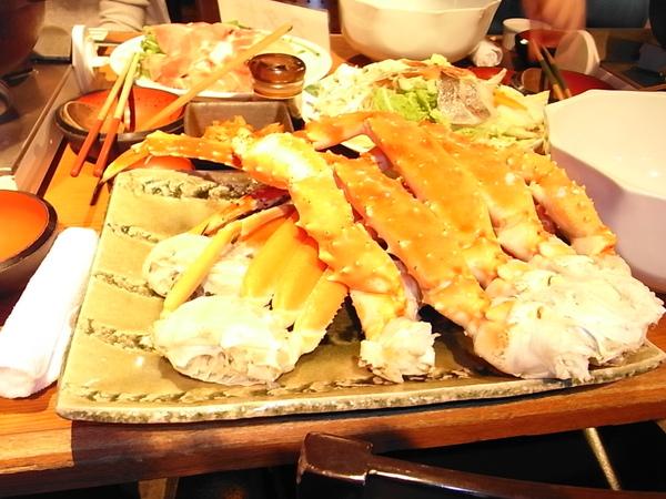 螃蟹吃到飽 超爽