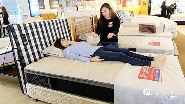 支撐力床墊