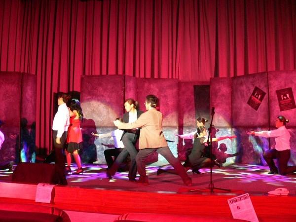 幻想中的Tango舞台